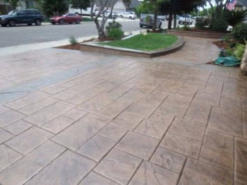 This is a picture of concrete pavers Manteca, California.