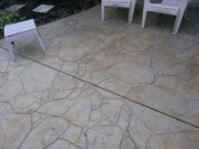 an image of a concrete stained resurface in manteca, ca